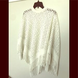 Other - Beautiful White Cape/Coverup